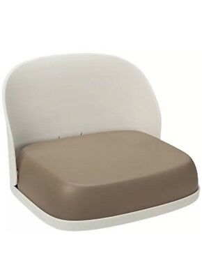OXO Tot Perch Foldable Booster Seat for Big Kids- Taupe.
