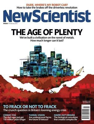 NEW SCIENTIST MAGAZINE 14th FEB 2015 ~ SPECIAL OFFER BUY ANY 6 ISSUES FOR £10.00
