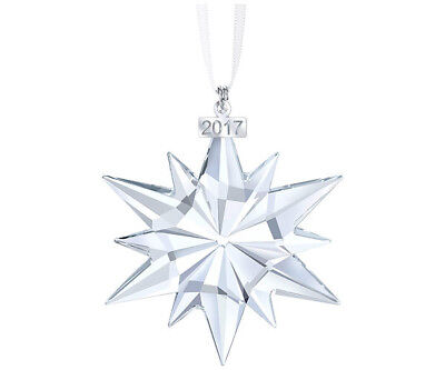 Swarovski Annual Edition Christmas Holiday Ornament 2017 - New in Box!