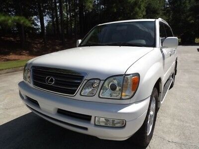 2005 Lexus LX  2005 Lexus LX470 4WD SUV / Very Nice with No Corrosion!