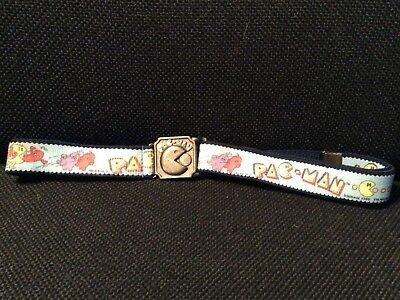PAC-MAN Vintage Video Game Belt with brass Buckle 1980 1982   Midway