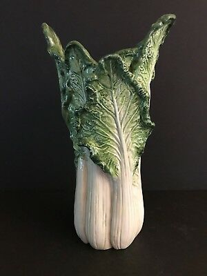 Fitz and Floyd - French Market Vase - Celery (Tall)