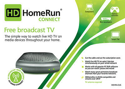 Silicondust HDHomeRun Connect Dual Network TV Tuner - AU model DLNA (HD Homerun)