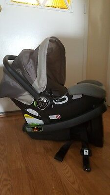 Baby Jogger 2016 City Go Infant Car Seat, Black/gray
