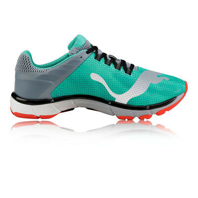 Puma Mobium Elite Speed Mens Blue Cushioned Road Running Sports Shoes Trainers