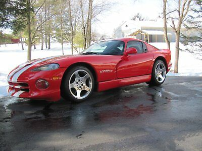 1997 Dodge Viper  1997 Dodge Viper GTS  1 of 706 painted Viper Red that year with just over 13,000