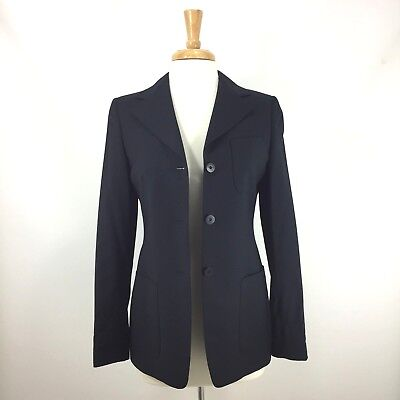 Faconnable Tailleur Italy Navy Blue Blazer Jacket 3 Btn 2 Vent Excellent 2/38