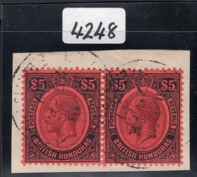 192 British Honduras. SC#104 SG#125. Used Extra Fine. With Brandon Certificate