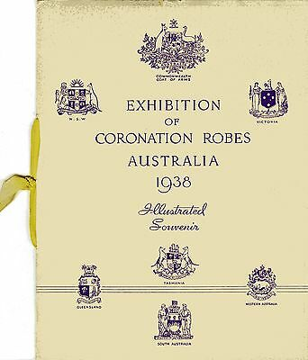 Exhibition of Coronation Robes Australia 1938 : illustrated souvenir
