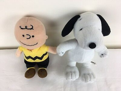 Peanuts Charlie Brown And Snoopy Plush Doll Toy