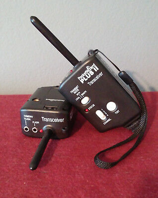 Pocket Wizard Plus II Transceivers, set of two (2)