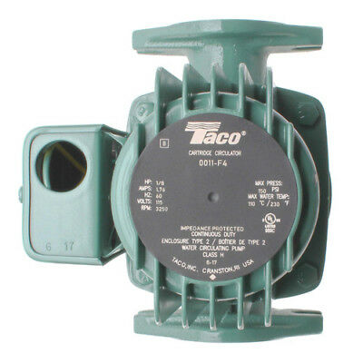 Taco 0011-F4 Cast Iron Cartridge Circulator Pump