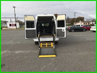 2014 Ford E-Series Van Commercial VAN WHEELCHAIR HANDICAP HIGH TOP POWER LIFT2014 Commercial Used 4.6L V8 16