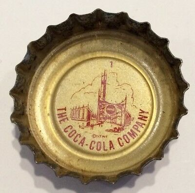 Lot of 179 Vintage 1964 New York World's Fair Coca Cola Bottle Caps