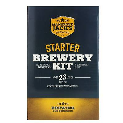 Mangrove Jacks Starter Brewery Kit All In One Beginners Perfect Gift Home Brew