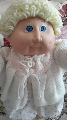 Cabbage Patch Kids - blonde hair beauty