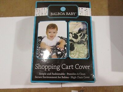 Balboa Baby Shopping Cart and High Chair Cover in Lola BRAND NEW OPEN BOXED