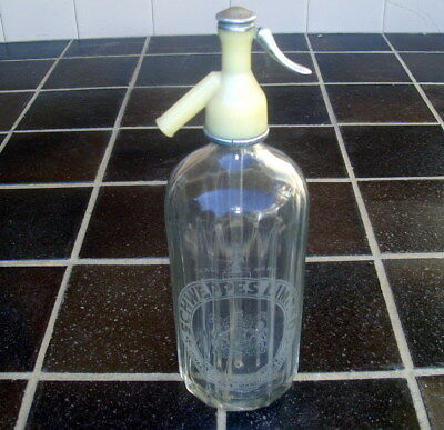 schweppes soda water bottle