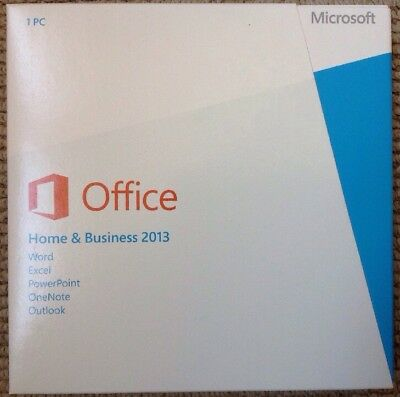 Microsoft Office Home & Business 2013  Outlook, Word, Excel, PowerPoint, OneNote