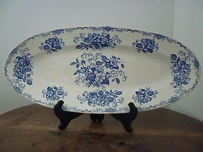 Faience Bordeaux Vieillard Grand Plat