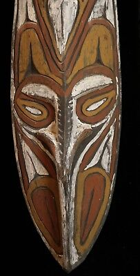 Tambanum village New Guinea  Colorful  Ancestral Mask