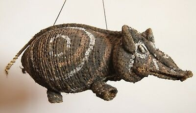 NEW GUINEA Woven Bush Fiber Pig Dream Vehicle