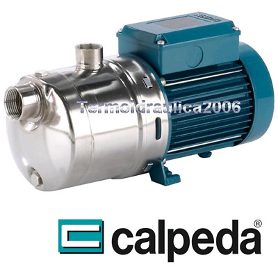 Multi Stage stainless steel pump CALPEDA MXH406m 1,5kW 2Hp 230V Heavy Duty Z5