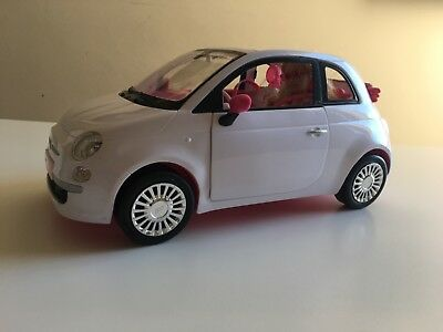Barbie Fiat 500 including the original Barbie doll and accessories - immaculate