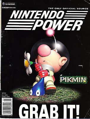 Nintendo Power Magazine Vol 152 Jan 2002 PIKMIN - GRAB IT!  VG+  POSTER MINT!
