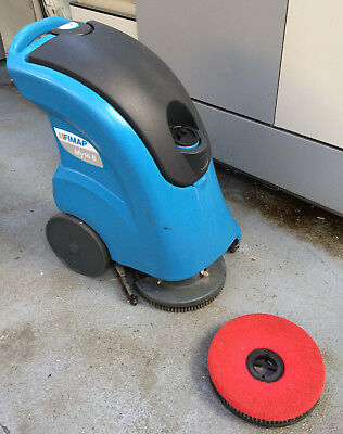 Fimap MY16B Cordless Scrubber Drier Dryer for office or factory floor cleaning