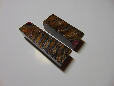 Blank for pen of Genuine Fossil Woolly mammoth molar and resin vacuum stabilized
