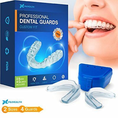 Professional Thin Fit Dental Guard - Pack of 4 - New Upgraded Anti Grinding