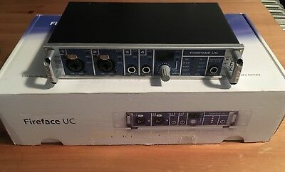 RME Fireface UC | Retails at £800 | USB Pro Audio Interface | *Made in Germany*