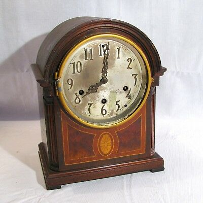 Antique Seth Thomas 8-Day Westminster Chimes Mantle Clock #124 Parts Or Repair