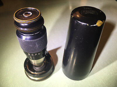 Antique Hensoldt Wetzlar Tami pocket field expedition microscope 3743