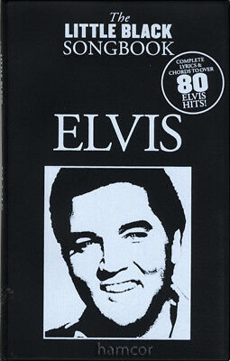 Elvis Presley The Little Black Songbook Guitar Chords & Lyrics Music Song Book