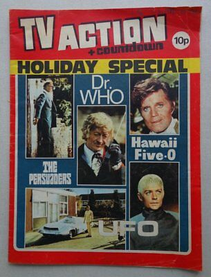 TV Action and Countdown Holiday Special comic 1972 VG (phil-comics)
