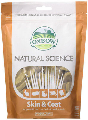 OXBOW - Natural Science Skin & Coat Supplement - 60 Tablets (120 g)