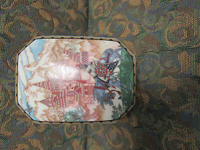 Villeroy and Boch  Porcelain Trinket Box Made in Luxembourg