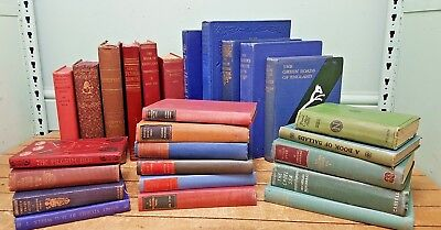 Job Lot of 25 Vintage Hardback Books * Wedding Centrepiece Displays, Pubs   SALE