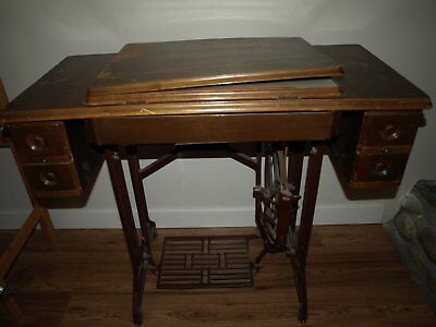 Antique Olympia treddle sewing machine