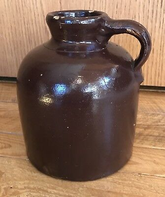 Jug Small Brown Stoneware Crockery Antique Vintage FARMHOUSE from 84 yr old aunt