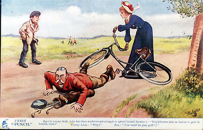 Tuck Oilette, Cycling and Motoring jokes from 'PUNCH', No. 9202,