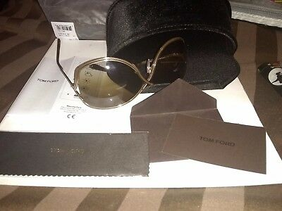 c3044f93712 New Tom Ford TF362-50F Brown   Brown Gradient Sunglasses In Original Case