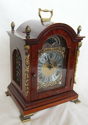 old dutch Mantle Bracket Shelf Clock moonphase Warmink Wuba John Thomas London