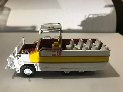 FSC STAR 660 PAPAMOBILE POLAND SERVICES CARS 1:72 DeAGOSTINI IXO