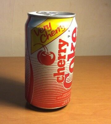 1988 Coca Cola Very Cherry Coke USA Sponsor Olympic Team Can