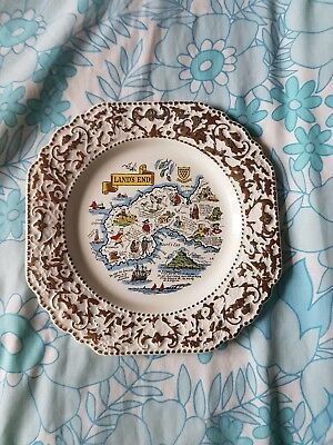 Lands End Plate by Lord Nelson Pottery