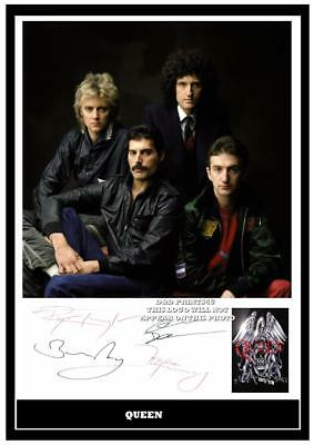 288. Queen Freddie Mercury  Signed A4  Photograph ...++++++++