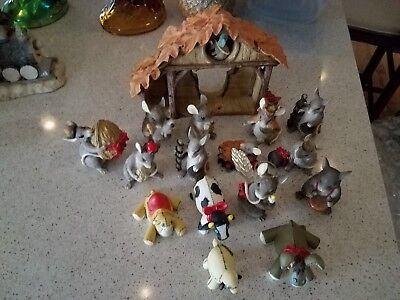 Charming Tails Nativity Set